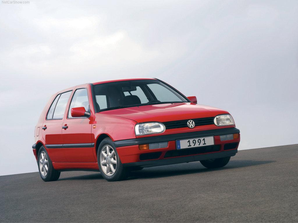 La Volkswagen Golf 3 est sortie en 1991
